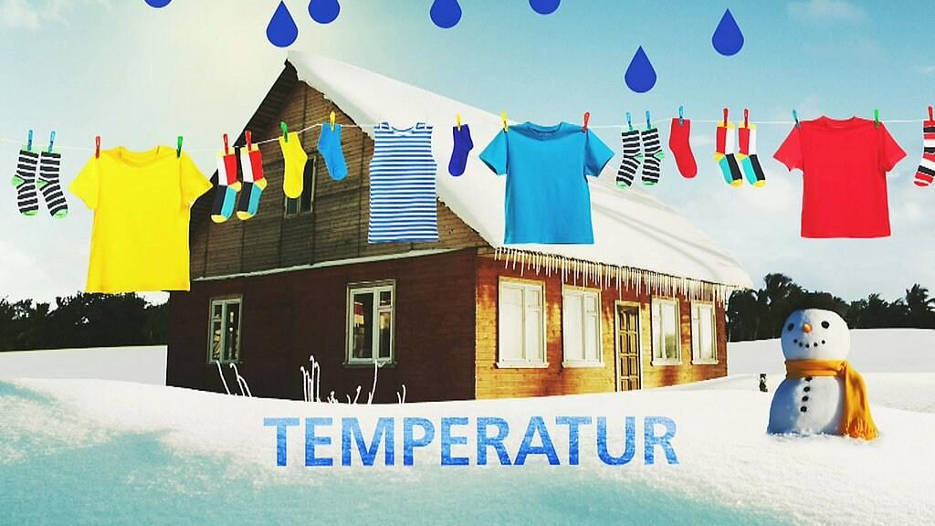 Bissen Wissen: Wäsche im Winter