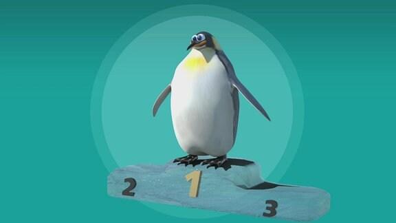 Ein Pinguin