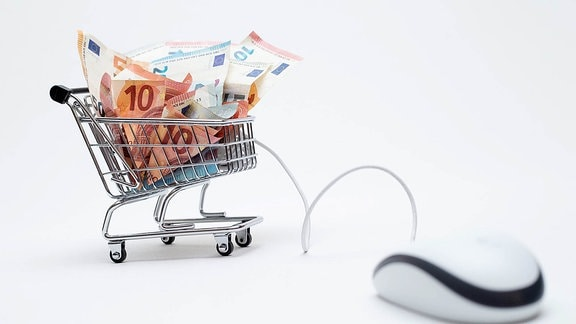 Symbolfoto Online Shopping.