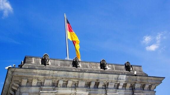Eine Deutsche Flagge