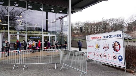 Impfzentrum, Chemnitz