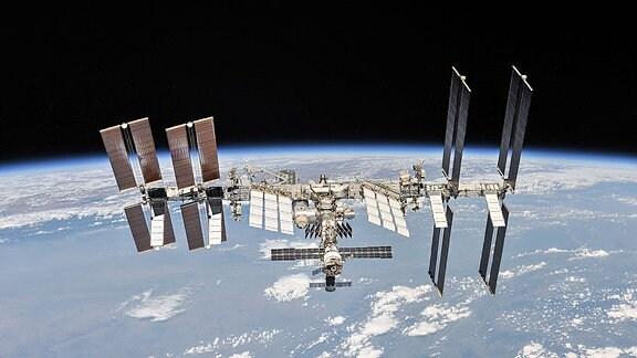 Die Raumstation ISS