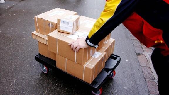 DHL Paketlieferdienst