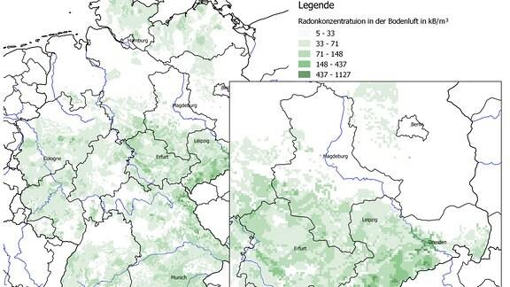 Radon Karte Deutschland.Exakt Die Story Radon Die Unsichtbare Gefahr Aus Der Tiefe Mdr De