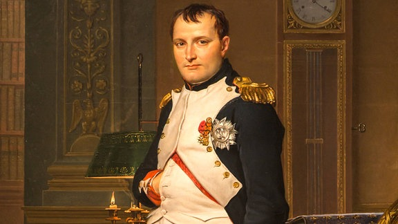 Napoleon Bonaparte, Gemälde von Jacques-Louis David, 1812